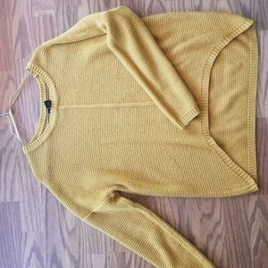 Mustard yellow sweater!